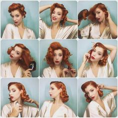 pin by bálint krisztina on hair 20 elegant retro hairstyles 2020 vintage hairstyles for 50 s inspired vintage updo hairstyle … 1940s Hairstyles For Long Hair, Retro Hairstyles, Wedding Hairstyles, Wedding Updo, Pin Up Hairstyles, Casual Hairstyles, Updo Hairstyle, Everyday Hairstyles, Professional Hairstyles