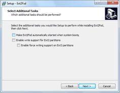 Accedere alle partizioni linux da windows