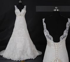 Hey, I found this really awesome Etsy listing at https://www.etsy.com/listing/184370370/lace-wedding-dress-designerscheap