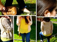Today's outfit at www.bluelemons.es #womenashion #ss14 #fashion #blogger #bl #outfitideas #yellow