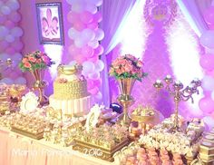 """Princess / Birthday """"The Most Beautiful Princess Party"""" 