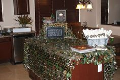 Duck Dynasty Party Decor.....camo net for his room