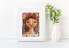 Original 5x7 inch postcard-style art prints with a glossy finish.