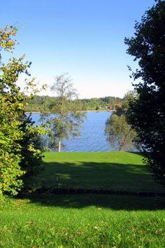Nature of Latvia. River Daugava.