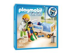 #Playmobil 6661 Physician at Children's Hospital Bed 兒童病床