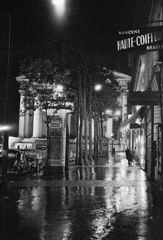Eglise de la Madeleine. #1950. Photographer: Marcel Bovis #vintage