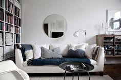 my scandinavian home: An elegant Malmö home in calming green