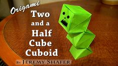 Two and a Half Cube Cuboid, AKA Baby Creeper - YouTube