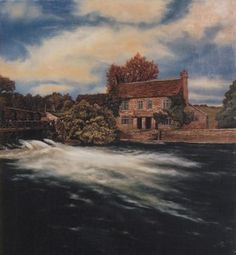 The Trout Inn on the Thames  by Liz Hilton