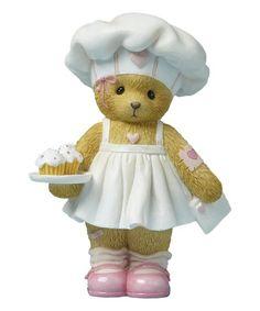 Look at this #zulilyfind! Valentine's Cupcakes Figurine #zulilyfinds