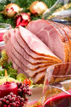 Apple Baked Christmas Ham