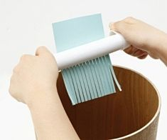 MUJI Hand Powered Shredder. Because I know my business partner will see this list. WE NEED THIS. It's only $10.98. No more bonfires outside of my cubicle! :)