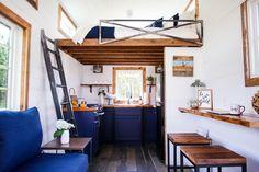 Lamon Luther, Brian Preston, wood, reclaimed wood, furniture, tiny house, tiny home, tiny house giveaway, tiny home giveaway, giveaway, homeless, helping people