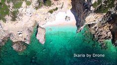Ikaria Island, Greece - the blue island - by Drone | Η Ικαρία από ψηλά