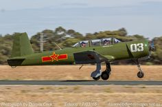 Clive Brookes Takes Off For A Local Flight In His Nanchang VH NNC At The