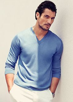 Flare directs a dolce and gabbana light blue photo shoot: <i>FLARE</i> directed our very own Dolce and Gabbana Light Blue photo shoot with supermodels David Gandy and Bianca Balti
