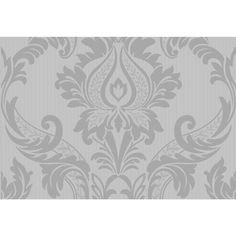 Arthouse Opera LAmour Motif Textured Wallpaper Black/Pink 413203