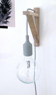 Via That Nordic Feeling | DiY Muuto Lamp Holder | Ikea Bracket