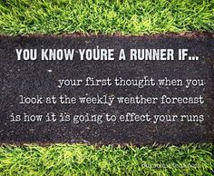 awesome You know you're a runner if... your first thought when you look at the weekly we... by http://dezdemon-humoraddiction.space/running-humor/you-know-youre-a-runner-if-your-first-thought-when-you-look-at-the-weekly-we/
