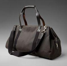 Jack Spade Waxwear Soft Duffle Bag
