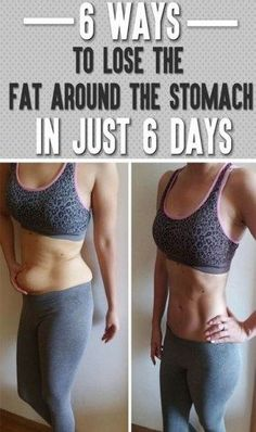 cb8d713a9c 6 Ways to Lose The Fat Around Your Stomach – KoKo Fitness  health  fitness
