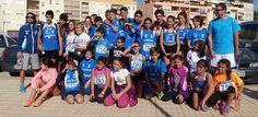 Excelentes resultados de los atletas sexitanos en el Circuito de Atletismo en Pista 'Diputación de Málaga'