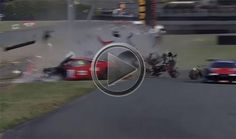 VIDEO: Ferrari 458 Italia GT3 Crashes. Shatters Into A Million Pieces