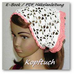 E-Book / PDF Häkelanleitung Kopftuch