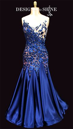 Ballroom Gowns by Designs to Shine new products listings 3 Dance Costumes, Cosplay Costumes, Gown Pattern, Ballroom Dance Dresses, Prom Dresses, Formal Dresses, Julia, Print Chiffon, Dance Wear