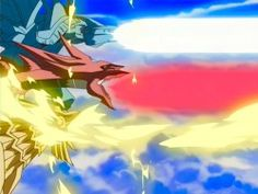 The Three Egyptian Gods, Obelisk the Tormentor, Slifer the Sky Dragon and the Winged Dragon of Ra attack the Great Leviathan at the same time.