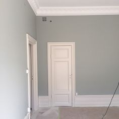 F&B light blue Living room? Bedroom Wall Colors, Bedroom Color Schemes, Paint Colors For Home, House Colors, Paint Colours, Interior Design Inspiration, Home Decor Inspiration, Blue Lounge, Light Blue Walls