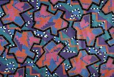 Nathalie Du Pasquier   Memphis Group Visionary print pattern