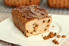 for Terri - Snickerdoodle Bread Recipe on { lilluna.com } bake muffins for about 20 mins