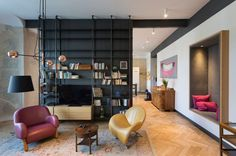 A Renovated Apartment in Warsaw, Poland by INDOOR