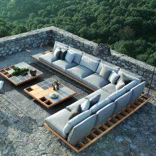 Kissenset Kategorie B Royal Botania, Villa, Outdoor Furniture Sets, Outdoor Decor, Aluminium, My House, Sag Harbor, Schmidt, Home Decor