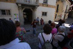 Aperture Straordinarie durante Menta e Rosmarino 2013 con la guida Cosetta Dal Cin. Villa vista dalla Piazzetta di Miasino