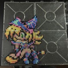 Maga oscura pixel art