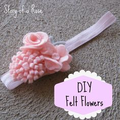 Crafternoon: Felt Flowers