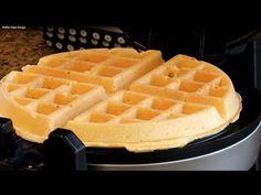 Easy Homemade Belgian Waffle Recipe