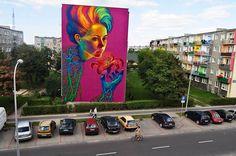 Stunning Street Art from Polish Artist Natalia Rak
