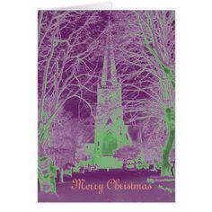 Merry Christmas greeting card - merry christmas diy xmas present gift idea family holidays