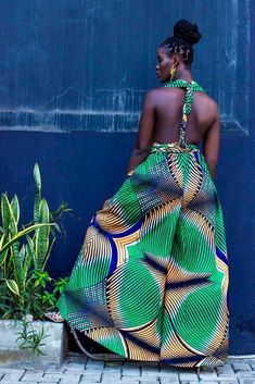 latest african fashion look 8844 African Print Dresses, African Print Fashion, African Wear, African Attire, African Fashion Dresses, African Dress, African Prints, Style Africain, Look Plus
