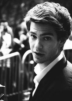 If I had a man like that I'd never get off his arm--Andrew Garfield;Spiderman