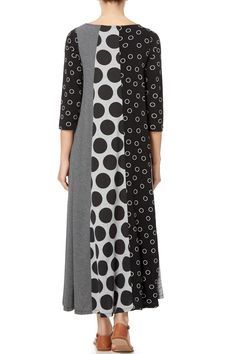 Alembika Jersey Panel Dress