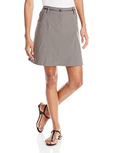 ExOfficio Womens Kukura Skort Slate 4 >>> Want additional info? Click on the image.