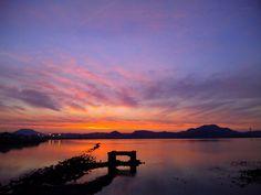 Sunset & Imazu Tideland (2012/09/20/18:30) #2