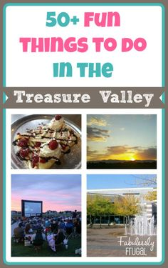 A reader compiled list of more than 50 different things you can do in Boise, Meridian, Eagle, Nampa, and Kuna Idaho.  #summerfun #familyfun #idaho
