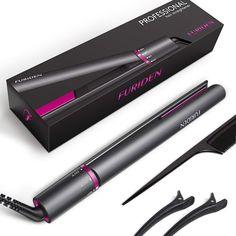 Professional Hair Straightener Flat Iron 2 in 1 Tourmaline