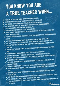 Very funny and true! My teaching nightmare was always showing up for the first day in my pajamas...