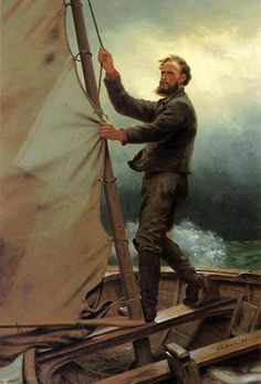 The Coming Squall: Date Unknown  - John George Brown